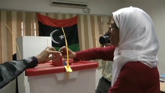 Libyans vote for first time in decades