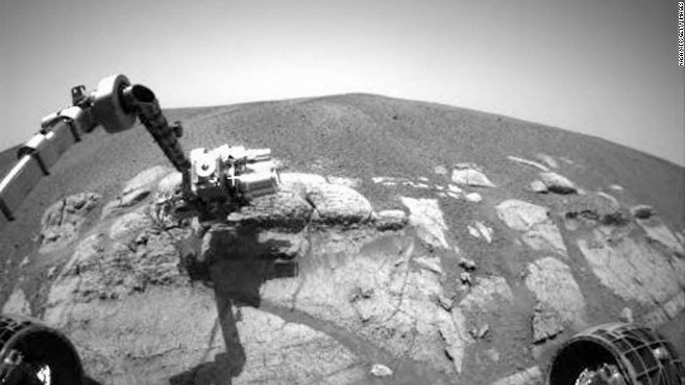 Opportunity, a six-wheeled solar-powered robot, has carried out a number of tasks during its lengthy time on Mars, exploring craters, digging trenches and testing rocks and soils.
