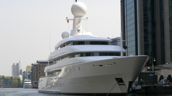 The mega-rich and their superyachts have already started to descend on London