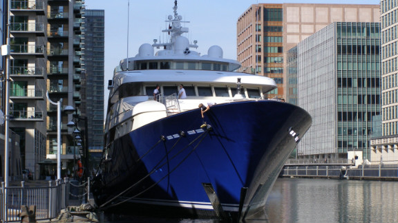 The high-end service comes with a price tag to match. Berths are roughly £60 ($90) a meter per day, with the cost of docking a 70 meter superyacht setting you back a whopping £58,000 ($90,000) for two weeks of the Games.