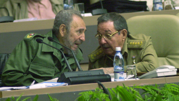 """Sanchez says the election of the relatively young Barack Obama in 2008 stood in marked contrast to the """"old men in olive green"""" (Fidel and Raul Castro) running Cuba."""
