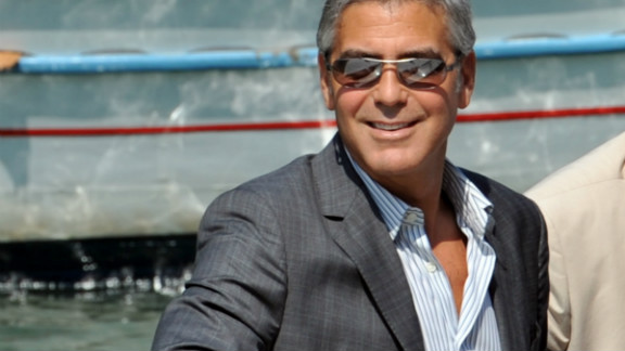 Actor George Clooney is rumored to be among those who will berth their yachts in the docklands during the Olympics. If he does, he