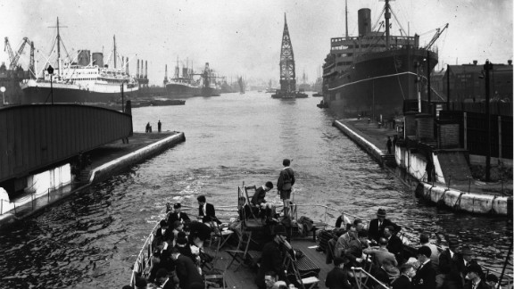 The docklands had originally secured London