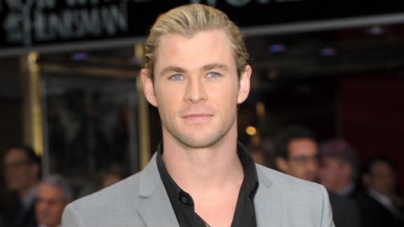 If new dad Chris Hemsworth isn't too busy wielding Thor's hammer to take part, he could have easily stepped into Grey's shoes.