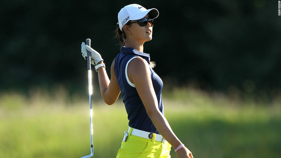 Hawaii-born Michelle Wie, whose parents emigrated from South Korea,  is still waiting for her first major win after a final-round 80 left her tied for 35th.