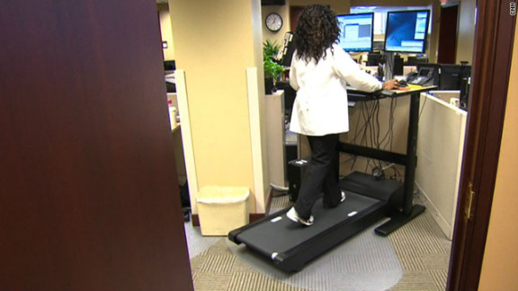 A study says adults might live longer and get diabetes less if they limited how much they sit.