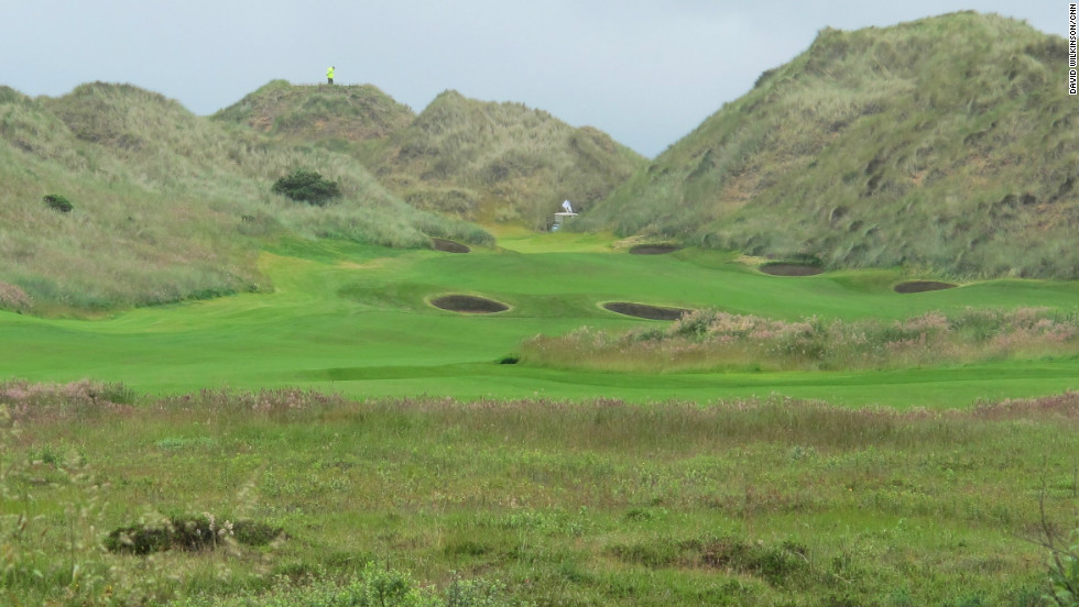 The Menie Estate, upon which the course is built, is protected by numerous charities and societies. The sand dunes featured throughout the course are a part of a site of scientific interest.