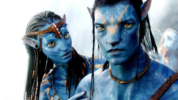 """""""Avatar,"""" a 2009 science fiction film written and directed by James Cameron, features animated blue creatures called the Na"""