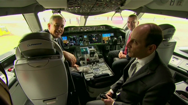 Three CEOs in a cockpit