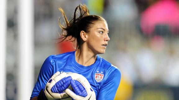 U.S. soccer player Hope Solo eventually decided to attend the Games.