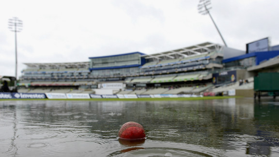 Cricket, a quintessentially British summer sport, is also at the mercy of the weather. England