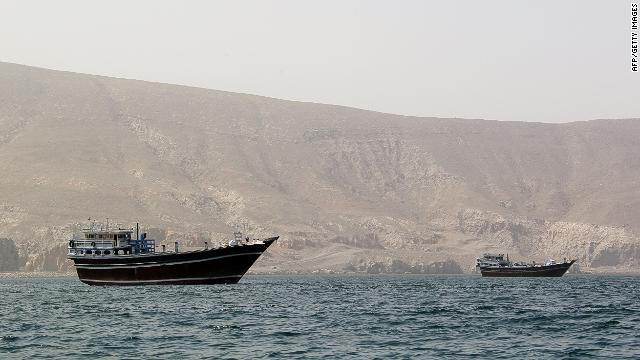 Official: US Navy ship fires warning shots at Iranian boats