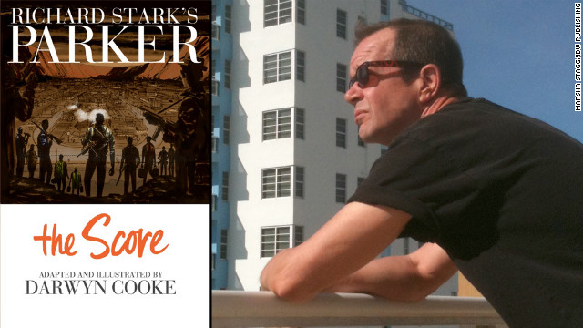"Darwyn Cooke says he's had a 30-year love affair with Richard Stark's ""Parker"" novels."