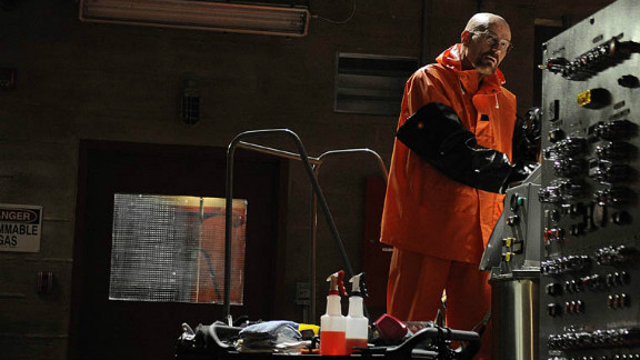 """Walter White (Bryan Cranston) completed his transformation into ruthless drug kingpin during season 4 of  """"Breaking Bad."""""""