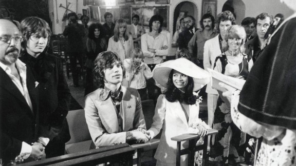 Mick Jagger and Nicaraguan girlfriend Bianca Perez Moreno De Macias marry in a small fisherman