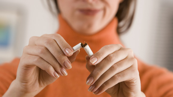 The study's authors urged smokers not to be put off by the new findings.
