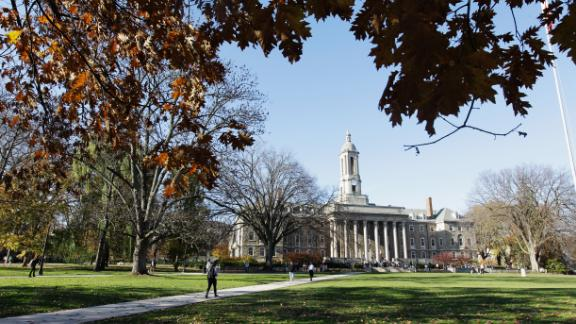 UNIVERSITY PARK, PA - NOVEMBER 08: The Penn State University campus is seen on November 8, 2011 in University Park, Pennsylvania. Amid allegations that former assistant Jerry Sandusky was involved with child sex abuse, Joe Paterno