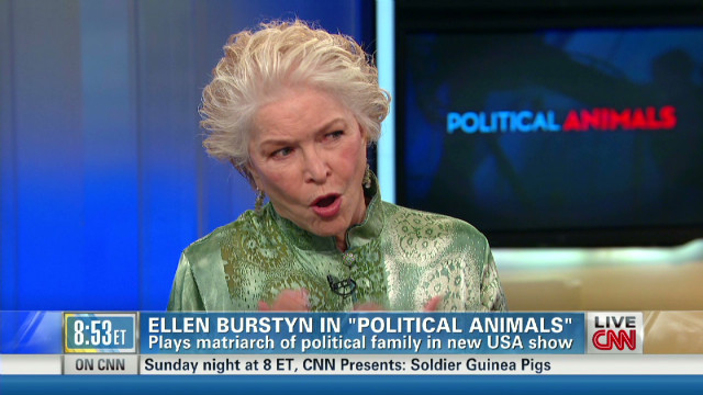 Burstyn's foul-mouthed 'political animal'