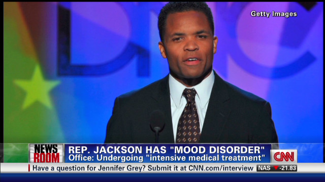 Rep. Jesse Jackson Jr. has mood disorder