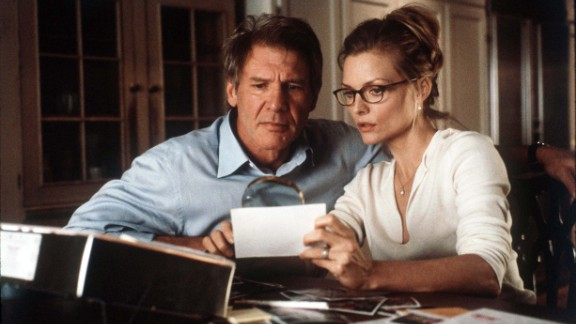 """Ford starred with Michelle Pfeiffer in Robert Zemeckis' 2000 horror film, """"What Lies Beneath."""""""