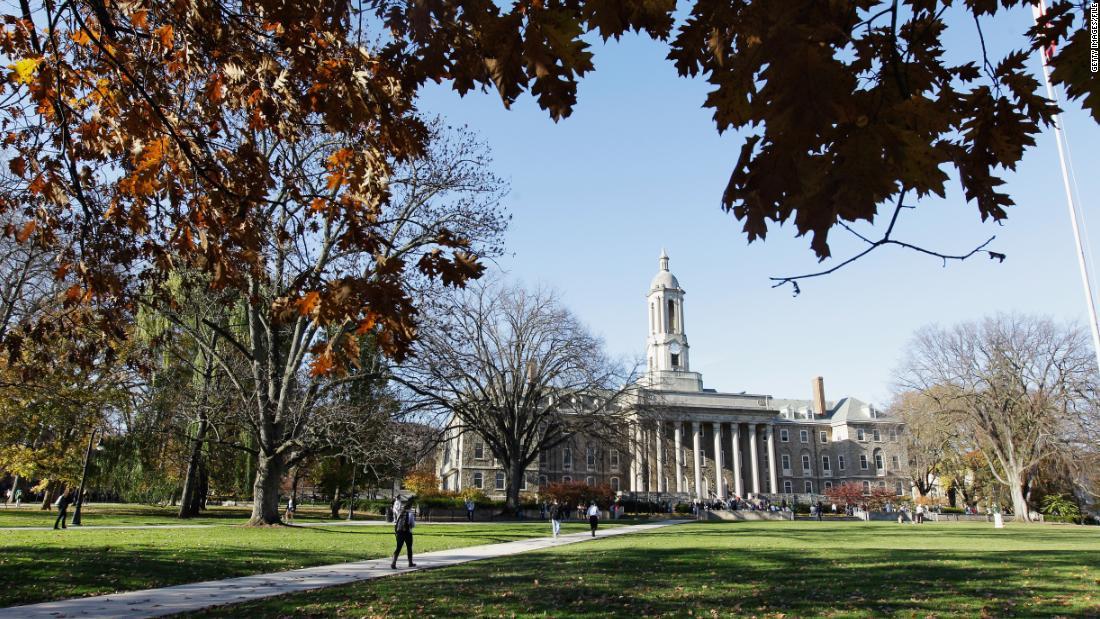 Penn State einstellt, Brüderlichkeit inmitten Untersuchung sexueller übergriffe Behauptung
