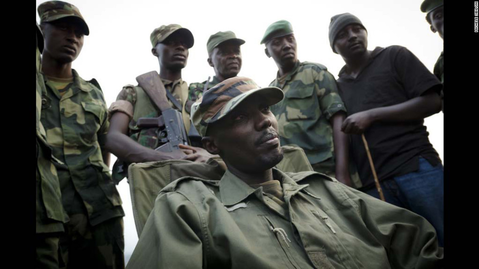 Colonel Sultani Makenga is the head of the M23 group that has seized several towns in the country's troubled eastern Nord-Kivu province. The M23 rebels launched a mutiny against the government early this year after breaking away from the army.