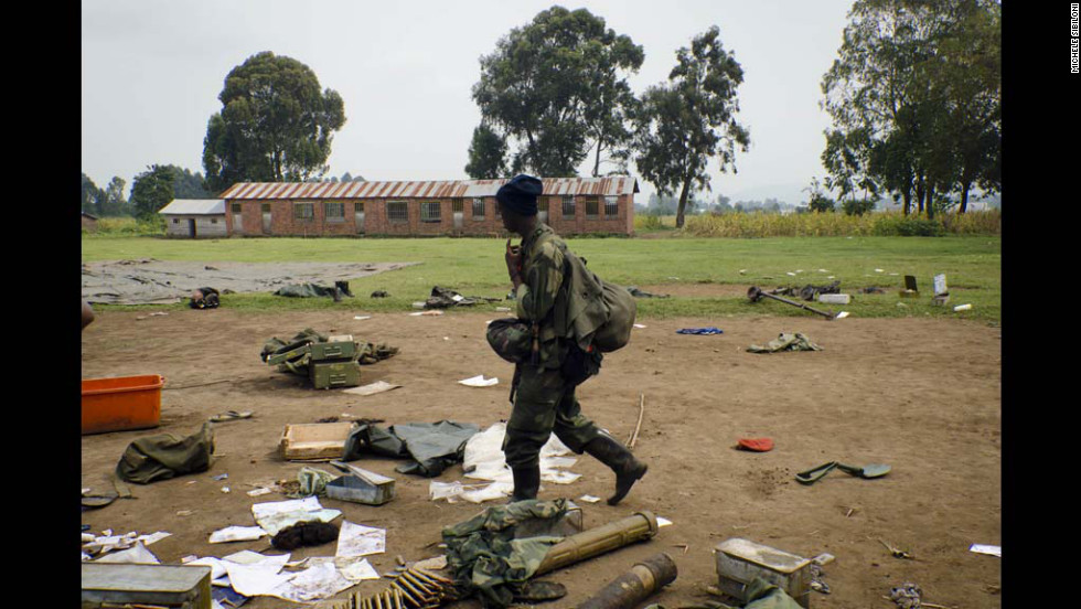 The M23 rebels' territorial seizures are helping to consolidate their gains over government forces and tightening their grip on a Uganda border crossing.