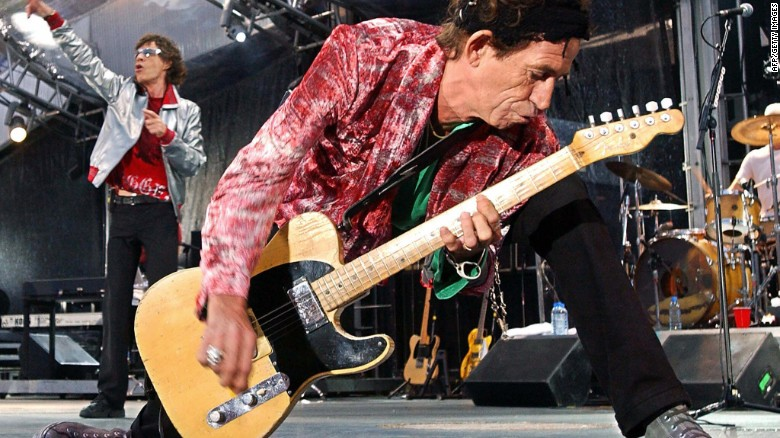 Keith Richards Fast Facts