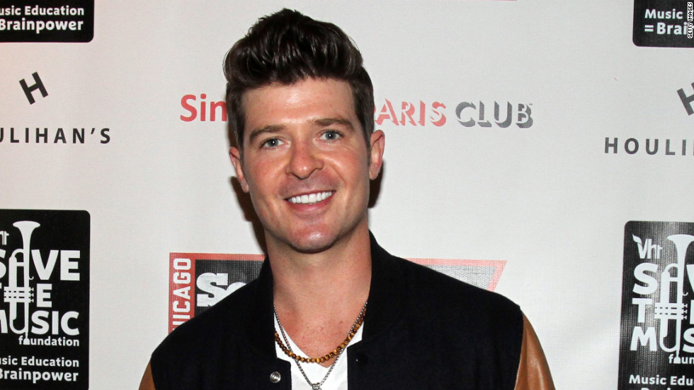 "Robin Thicke, an R&B star who broke through with the single ""Lost Without U"" in 2006, may be enough of a household name now to snag ""Idol"" consideration."