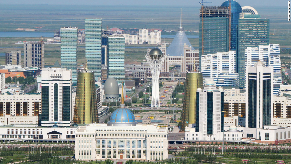 Much of Astana's modern architecture is striking in its scale and design, especially in contrast to the vast, open steppes that surround it.