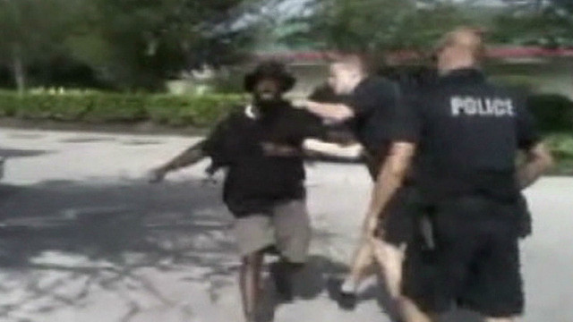 Tased jaywalker video used to train cops