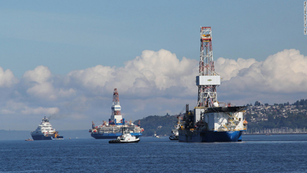 2013: Shell's arctic drilling underway