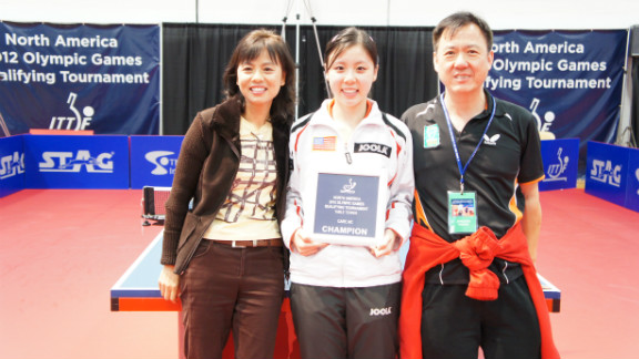 Ariel Hsing credits her success to the support of her family.