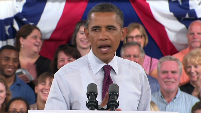 Obama: Romney will create jobs overseas
