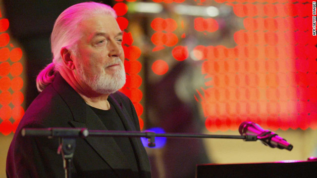 Jon Lord of the British rock group Deep Purple performs during a 2004 gala in Berlin, Germany.