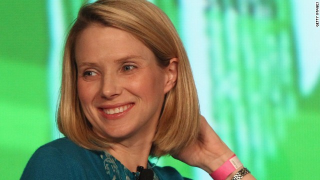 Marissa Mayer takes reign at Yahoo