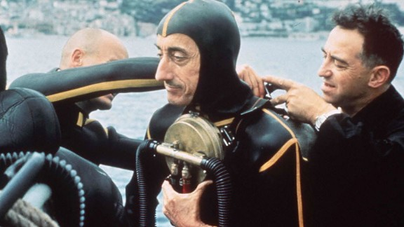 Cousteau is the grandson of legendary ocean explorer Jacques Cousteau (pictured).