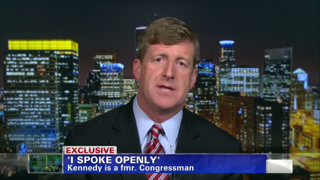 Patrick Kennedy on mental health