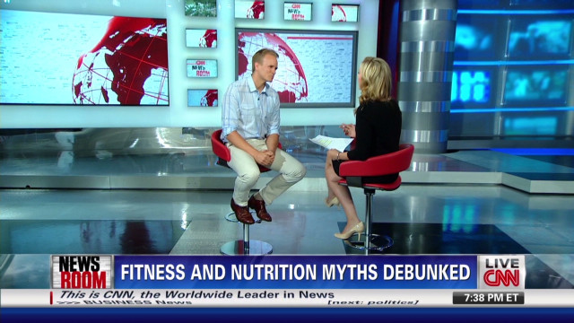 11f8975fdeb Fitness and nutrition myths debunked - CNN Video