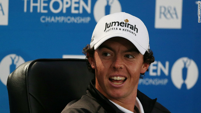 Rory McIlroy is in a much more relaxed mood going into the British Open than 12 months ago, he says