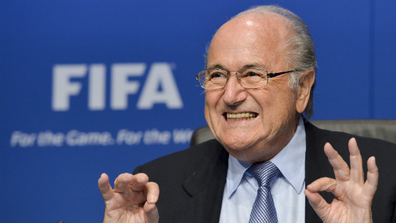 In November 2011, FIFA president Sepp Blatter told CNN that football did not have a problem with racism on the field and any incidents should be settled by a handshake.