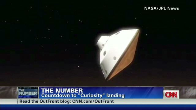 "The Number: ""Curiosity"" Mars landing"