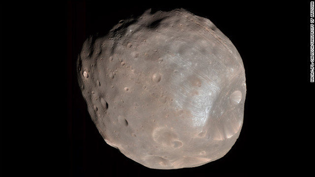 Martian moon Phobos could tell us what Mars was like in the past - CNN