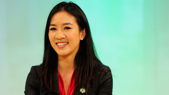 """After competing in the Nagano 1998 and Salt Lake 2002 Winter Olympic Games, where she won silver and bronze respectively, Michelle Kwan took to TV airwaves. The figure skater has appeared on """"Sabrina the Teenage Witch,"""" as well as voiced herself on children's series """"Arthur"""" and animated sitcoms """"King of the Hill"""" and """"The Simpsons."""""""