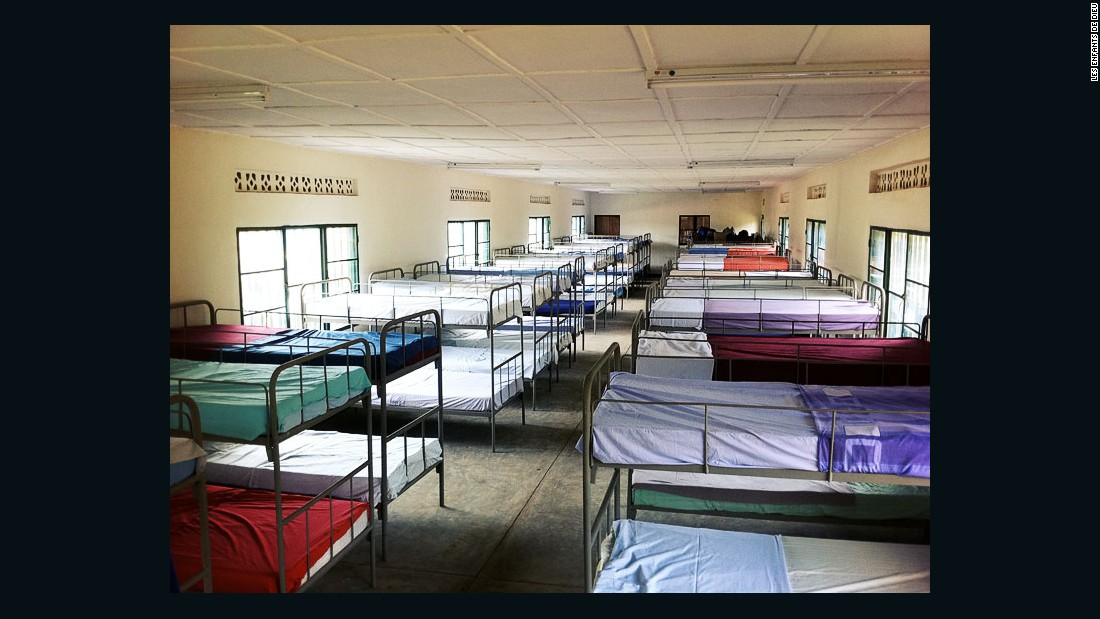 The center's facilities include, among others, a dormitory, an infirmary, a library, a playground and several classrooms.