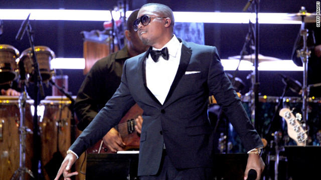 Rapper Nas performs during the 2012 ESPY Awards in Los Angeles on July 11.