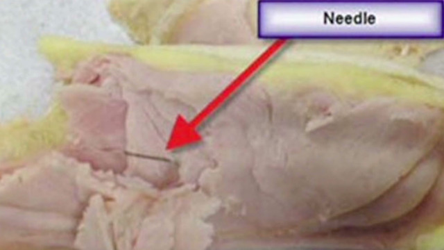 Delta: Needles found in sandwiches