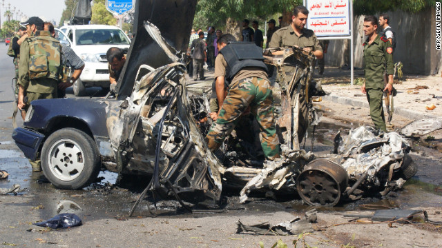 Onslaught of violence continues in Syria