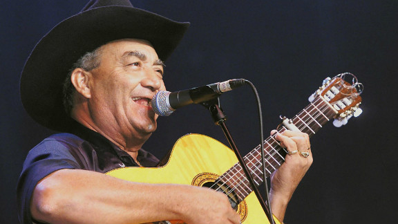 Cuban singer and guitar player Eliades Ochoa is one of the most high-profile names in AfroCubism. The legendary musician was one of the younger members of the Buena Vista Social Club.