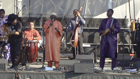 AfroCubism recorded their long-awaited album in 2010 in Madrid, Spain, over four days. The band is currently on their second North American tour, spreading their vibrant sound to new audiences.
